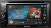 "Pioneer - 6.1"" - DVD - Built-In Bluetooth - Built-In HD Radio - Satellite Radio-Ready - In-Dash Receiver - Black"