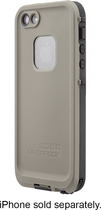 LifeProof - frē Case for Apple® iPhone® 5 and 5s - Taupe