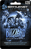 Blizzard - Battle.net Gift Card ($20) - Multicolor