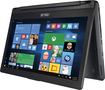 "Asus - Flip 2-in-1 13.3"" Touch-Screen Laptop - Intel Core i5 - 8GB Memory - 500GB Hard Drive - Black"