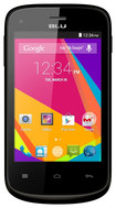 Blu - Dash Jr. K with 512MB Memory Cell Phone (Unlocked) - Black