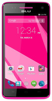 Blu - Studio 5.0 C HD 4G with 8GB Memory Cell Phone (Unlocked) - Pink
