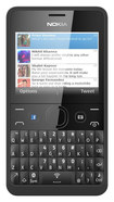 Nokia - Asha 210 with 64MB Memory Cell Phone (Unlocked) - Black