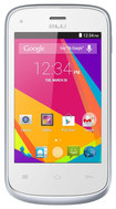Blu - Dash Jr. K with 512MB Memory Cell Phone (Unlocked) - White