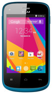 Blu - Dash Jr. K with 512MB Memory Cell Phone (Unlocked) - Blue