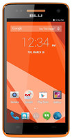 Blu - Studio 5.0 C HD 4G with 8GB Memory Cell Phone (Unlocked) - Orange