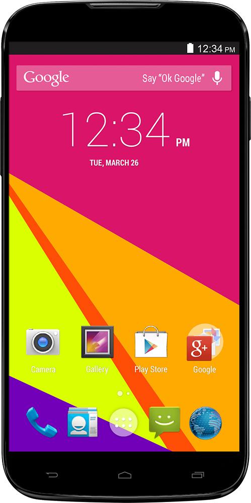 Blu - Studio 6.0 4G with 4GB Memory Cell Phone (Unlocked) - Black