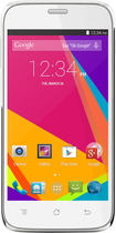 Blu - Studio 5.0 HD LTE 4G with 8GB Memory Cell Phone (Unlocked) - White