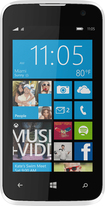 Blu - WIN JR 4G with 4GB Memory Cell Phone (Unlocked) - White