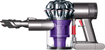 Dyson - DC58 Bagless Cordless Hand Vac - Nickel/Red/Purple