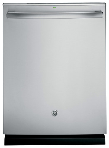 GE - 24 Tall Tub Built-In Dishwasher with Stainless Steel Tub - Stainless Steel