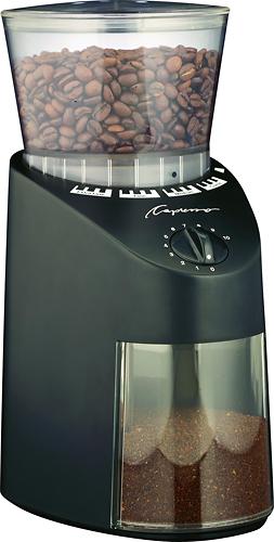 Jura - Capresso Jura Infinity 560.01 Conical Burr Coffee Grinder Black - Black