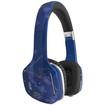 MEElectronics - Atlas Sky IML Graphics On-Ear Headphones With Headset Functionality - Skyline Blue