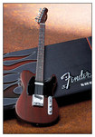 Axe Heaven - Fender® Telecaster® Officially Licensed Miniature Guitar Replica - Rosewood