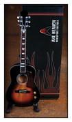 Axe Heaven - Acoustic Vintage Miniature Guitar Replica - Sunburst