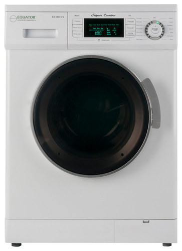 Equator - 1.6 Cu. Ft. 7-Cycle Washer and 7-Cycle Dryer Combo - White
