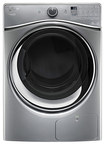 Whirlpool - HybridCare Duet 7.3 Cu. Ft. 8-Cycle Electric Dryer - Chrome Shadow