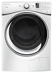 Whirlpool - HybridCare Ventless Duet 7.3 Cu. Ft. 8-Cycle Electric Dryer - White
