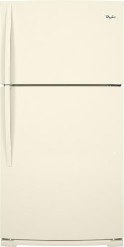 Whirlpool - 21.3 Cu. Ft. Top-freezer Refrigerator - Bisque