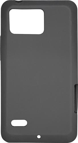Rocketfish Mobile - Silicone Case for Motorola DROID Bionic Mobile Phones - Black