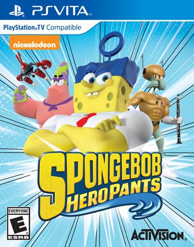 SpongeBob HeroPants - PS Vita