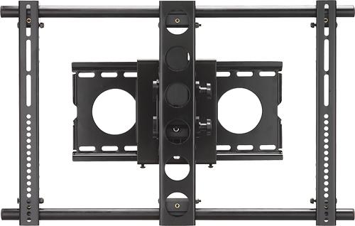 "Sanus - Full-Motion TV Wall Mount For Most 32"" - 63"" Flat-Panel TVs - Extends 9-1/2"" - Black"