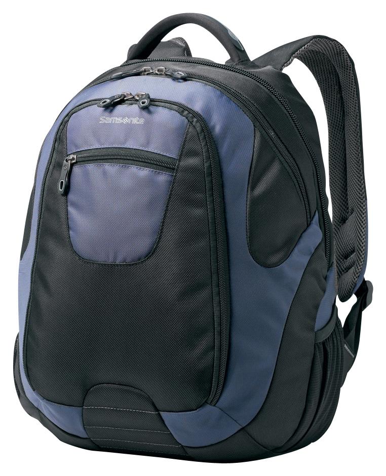 Samsonite - Tectonic Backpack Laptop Case - Black/Blue