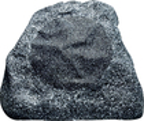 Russound - 2-Way Outdoor Rock Loudspeaker (Each) - Gray Granite