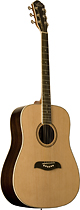 Oscar Schmidt - 6-String Full-Size Dreadnought Acoustic Guitar - Natural