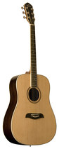 Oscar Schmidt - 6-String Full-Size Dreadnought Acoustic Guitar - Natural