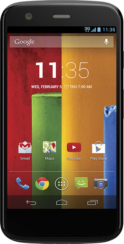 Verizon Wireless Prepaid - Motorola Moto G No-Contract Cell Phone - Black