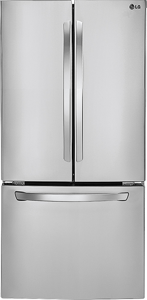 LG   23.6 Cu. Ft. French Door Refrigerator   Stainless Steel At Pacific  Sales