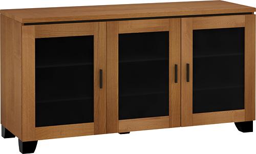 "Salamander Designs - Chameleon Elba Cabinet for Flat-Panel TVs Up to 65"" - Cherry"