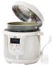 Elite Platinum - 8-Quart Electric Pressure Cooker - White