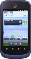 NET10 - ZTE Midnight No-Contract Cell Phone - Blue