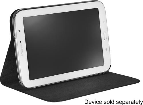 Platinum - Slim Folio Case for Samsung Galaxy Note 8.0 - Black
