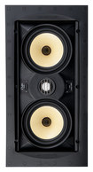 "SpeakerCraft - Profile AIM LCR One Dual 5-1/4"" In-Wall Speaker (Each) - Black"
