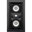 "SpeakerCraft - Profile AIM LCR3 Three Dual 3"" 2-Way In-Wall Speaker (Each) - Black"