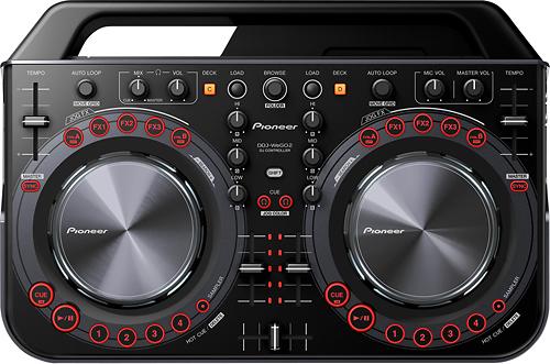 Pioneer - Compact DJ Controller - Black