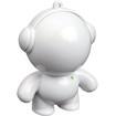 Mobi - Beatz Buddiez 2 W Home Audio Speaker System - iPod Supported - White