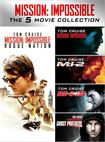 Mission: Impossible 5-movie Collection [5 Discs] (dvd) 30726481