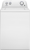 Amana - 3.5 Cu. Ft. 8-Cycle High-Efficiency Top-Loading Washer - White
