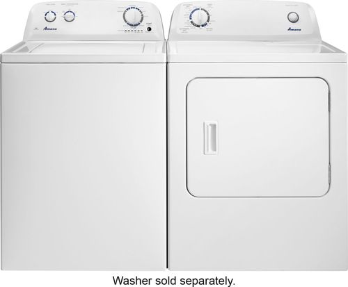 Amana - 6 5 Cu  Ft  11-Cycle Electric Dryer - White at Pacific Sales