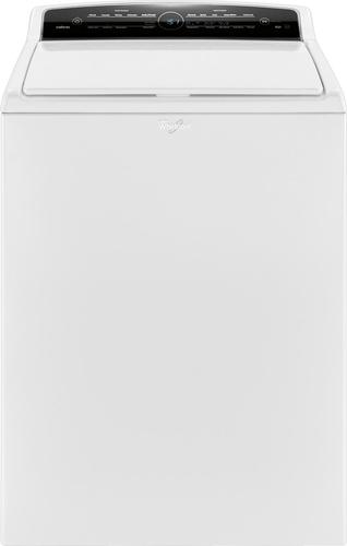 Whirlpool - Cabrio 4.8 Cu. Ft. 26-Cycle High-Efficiency Top-Loading Washer - White