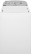 Whirlpool - 3.5 Cu. Ft. 9-Cycle Top-Loading Washer - White