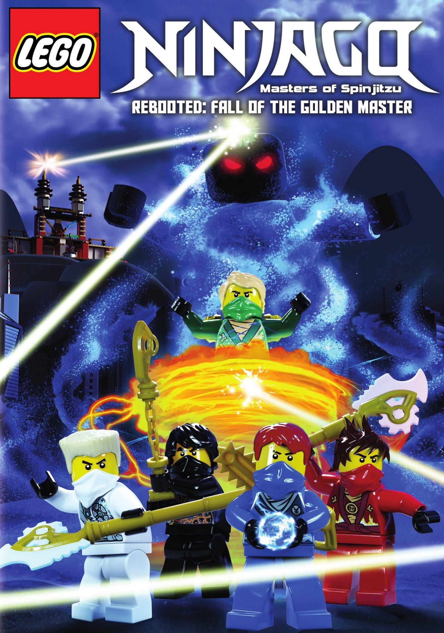 Lego Ninjago: Masters Of Spinjitzu - Rebooted: Fall Of The Golden Master (dvd) 3076039