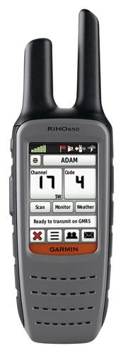Garmin - Rino 2.6 Handheld GPS Navigator - Gray