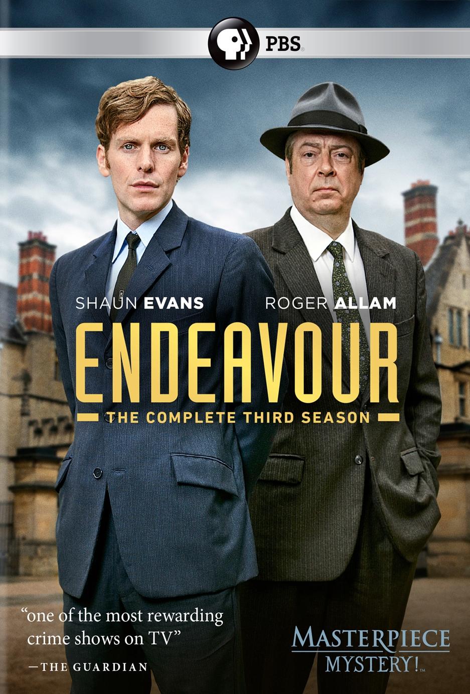 Endeavour: The Complete Third Season (dvd) 30952699