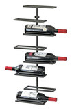 Wine Enthusiast - 8-bottle Urban Wine Rack - Iron