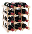 Wine Enthusiast - 12-bottle Modular Wine Rack - Natural